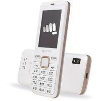 Micromax X704 Dual Sim Mobile Phone (White)