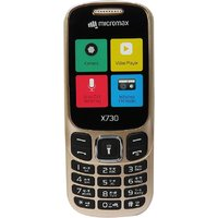 Micromax X730 Dual Sim Mobile Phone Champagne