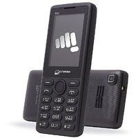 Micromax X802 Dual Sim Mobile Phone Black