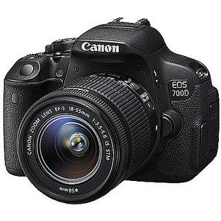 Canon EOS 700D (EF S18-55 IS II & 55-250 Lens...