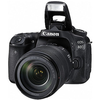 Canon EOS 80D DSLR Camera with EF-S 18-135mm IS USM...