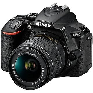 Nikon D5600 DSLR Camera with AF-P DX Nikkor 18 -...