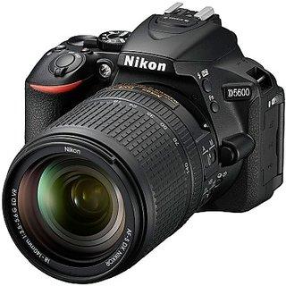 Nikon D5600 DSLR Camera with the AF-S DX Nikkor 18...