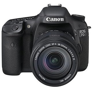 Canon EOS 7D Mark II DSLR Camera with 18-135mm IS...