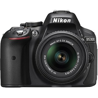 Nikon D5300 DSLR Camera with AF-P DX NIKKOR 18-55 mm...