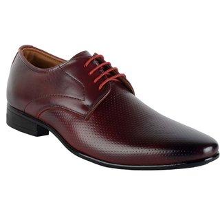 ShoeAdda Stylish And Classy Cherry Formal