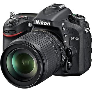 Nikon D7100 DSLR Camera (Black Body with AF-S 18-105 mm VR Lens)