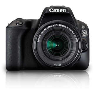 Canon EOS 200D DSLR Camera with EF-S 18-55mm IS STM...