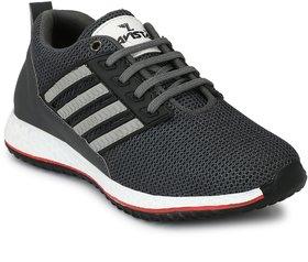 Lavista Men's Grey Net Febric Casual Shoe