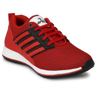 Lavista Men's Red Net Febric Casual Shoe