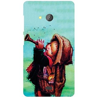 Printland Back Cover For Microsoft Lumia 540 Dual SIM