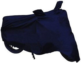 HMS Dustproof Bike body cover for bike and scooties upto 150 CC - Colour Blue