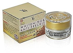 YC WHITENING  ANTI-FRECKLE GOLD CAVIAR DAY CREAM.