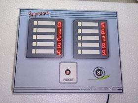 Wireless Nurse Call Bell System For 10 Beds Having Call And Cancel Buttons With High Glow Digital Numeric Display And Wi