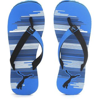 8de05b365cfa Buy Puma Mens Beach Black Blue Flip Flops Online - Get 46% Off