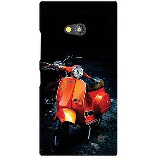 Printland Back Cover For Nokia Lumia 730