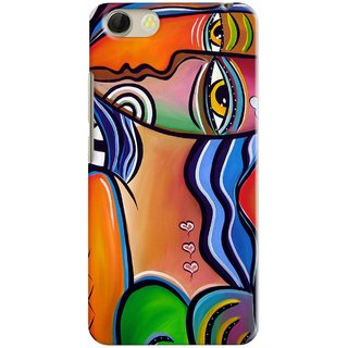 PREMIUM STUFF PRINTED BACK CASE COVER FOR OPPO R1201 NEO5  DESIGN 5834