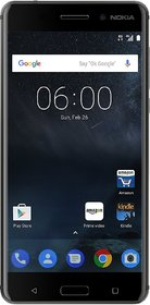 Nokia 6 (3 GB, 32 GB, Black)