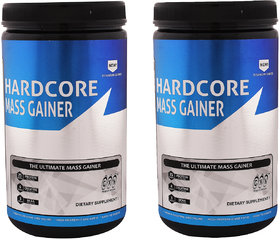 GXN Hardcore Mass Gainer 1lb, Vanilla Creme' - Pack Of