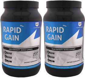 GXN Rapid Gain Plus 3lb, Vanilla Creme' - Pack Of 2