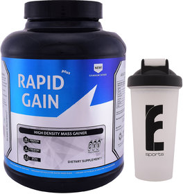 GXN Rapid Gain Plus 6lb, Vanilla Creme' & Branded Shake