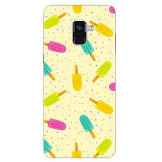 Printgasm Samsung Galaxy A8 Plus printed back hard cover/case,  Matte finish, premium 3D printed, designer case