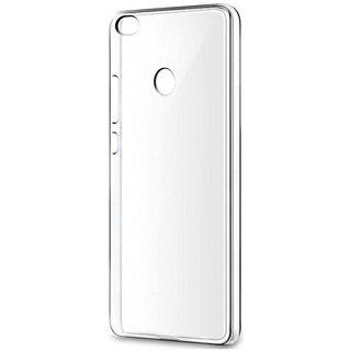 quality design 13722 fd12e Transparent Rubber Back Cover For Redmi 3s Prime