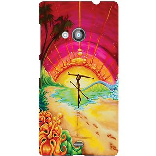 Printland Back Cover For Nokia Lumia 535