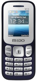 Mido M12 Dual Sim,1000 MAh Battery Auto Call Recorder M