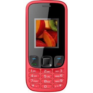 IKALL K29 RED Mobile Phone 2.4 InchDual Sim 1800mAh Battery (No Earphones)