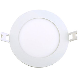 PARTH LED PANEL 6W ROUND WHITE WITH 2YEAR WARRANTY