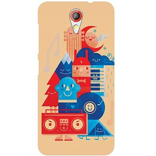 Printland Back Cover For HTC Desire 620