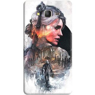 FurnishFantasy Back Cover for Samsung Galaxy J2 Ace - Design ID - 0356
