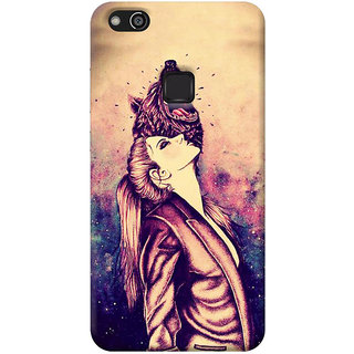 FurnishFantasy Back Cover for Huawei P10 Lite - Design ID - 1043