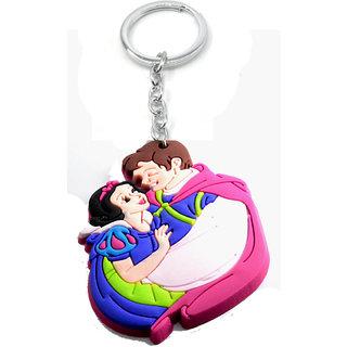 Faynci Love Couple Bride  Groom Designer Silicone Key Chain