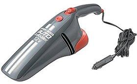 Black  Decker AV1205 Grey DC Car Vacuum Cleaner (12V)