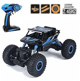 Mable Drift Waterproof Remote Controlled Rock Crawler RC Monster Truck, Four wheel Drive, 1:18 Scale 2.4 GHZ