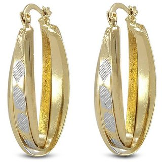 Vorra Fashion New Fancy Design Hoop Earring
