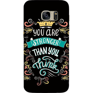 Galaxy S7 Case, Stronger than you Think Slim Fit Hard Case Cover / Back Cover For Galaxy S7