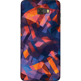 Galaxy C9 pro Case, Mesmerising Crystal Slim Fit Hard Case Cover / Back Cover For Galaxy C9 pro