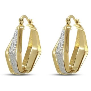 Vorra Fashion Fancy Design Hoop Earring