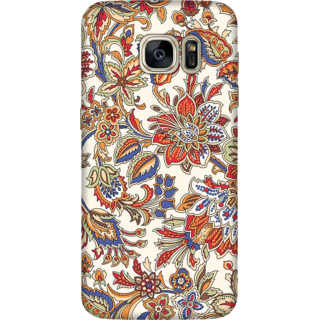 Galaxy S7 Edge Case, Floral Pattern 2 Slim Fit Hard Case Cover / Back Cover For Galaxy S7 Edge
