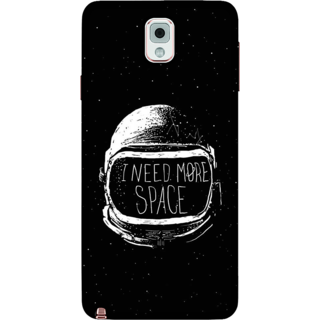 Galaxy Note 3 Case, I Need More Space Slim Fit Hard Case Cover / Back Cover For Galaxy Note 3