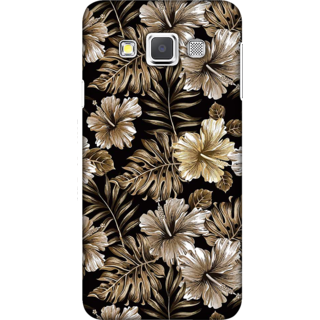 Galaxy A3 2015 Case, Floral Illustration Slim Fit Hard Case Cover / Back Cover For Galaxy A3 2015