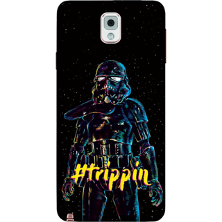 Galaxy Note 3 Case, Trippin Darth Vader Slim Fit Hard Case Cover / Back Cover For Galaxy Note 3