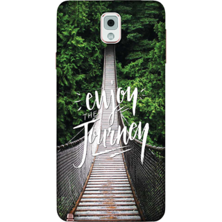 Galaxy Note 3 Case, Enjoy the Journey Slim Fit Hard Case Cover / Back Cover For Galaxy Note 3
