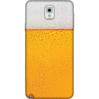 Galaxy Note 3 Case, Beer on my Mind Slim Fit Hard Case Cover / Back Cover For Galaxy Note 3
