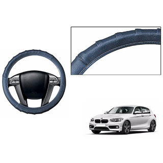Himmlisch Grippy Leatherette Car Steering Cover Grey  For BMW 1 Series