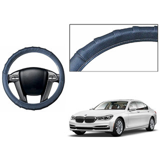 Himmlisch Grippy Leatherette Car Steering Cover Grey  For BMW 7 Series