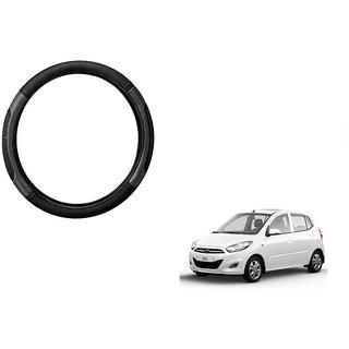 Himmlisch  Car Steering Wheel Cover Black&Grey For Hyundai i10 Old